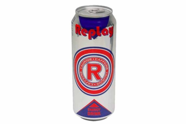 Replay Energy Drink
